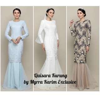 Qaisara Kurung by Myrra Karim Exclusive