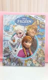 Frozen look and find