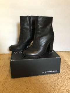 windsor smith black boots