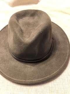 美國傳統牛仔純羊毛絨帽 (M)