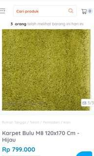 Karpet Informa M8 Green Informa