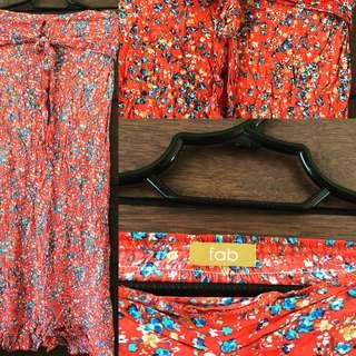 FAB tube maxi dress