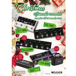 MOOER MICRO PREAMP GIVEAWAY + CHRISTMAS PROMOTION