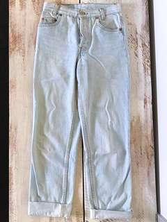Vintage High Rise Levi Jeans