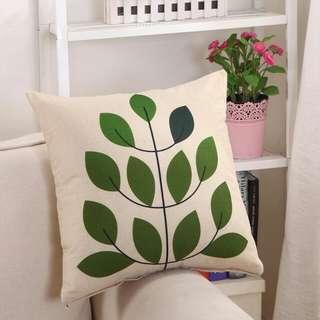 leave Cushion cover pillow case chair sofa furniture