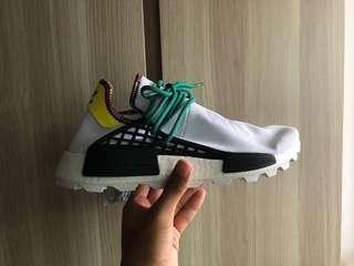 Adidas X Pharrell Williams NMD Hu White