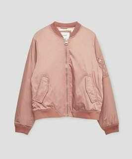 Pull & Bear Bomber Pink Blasé