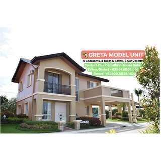 5BR COMPLETE TURN OVER Unit with Free Bank Charges 10mins to TAGAYTAY - CAMELLA TERRAZAS AT ALTA SILANG