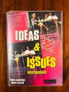 🚚 7成新 Ideas & issues 英文課本包有書套