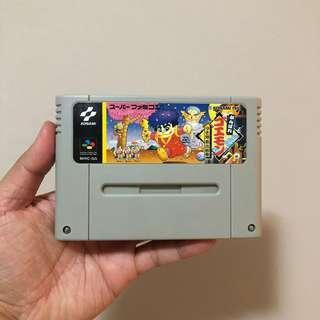 Ganbare Goemon 1 & 2 Nintendo Super Famicom