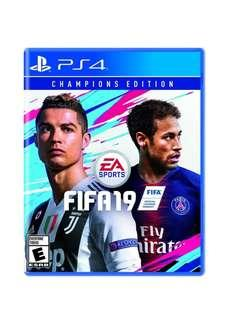 SALE SALE SALE GAK NGOTAK SONY PS4 Game - FIFA 19: Champion Edition🔥❤⚽ Kuy chat skrg lgsg order! First come first serve😍😘 Authentic Guarantee/100% MONEYBACK👌 (Harap baca description sebelum order🙏)