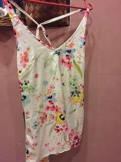 H&M Floral Sleeveless Top