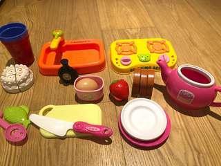 🚚 廚房玩具&籃球架