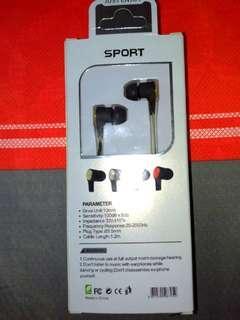 🚚 Sport earphone耳機麥克風