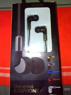 🚚 Unervisal earphone 耳機麥克風