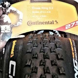 CONTINENTAL Cross King Performance MTB Tire 27.5 X 2.2