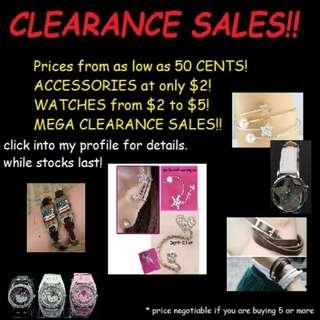 🚚 PROMOTION! CLEARANCE SALES! PRICES FROM 50CENTS!