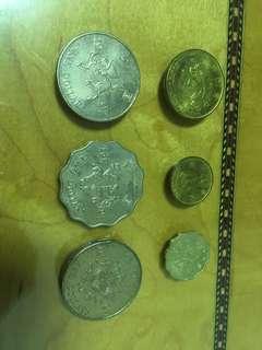 香港1997回歸紀念錢幣硬幣