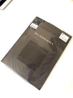 X'mas 精選~Burberry 絲襪黑色兩對日本製(聖誕交換禮物之選)