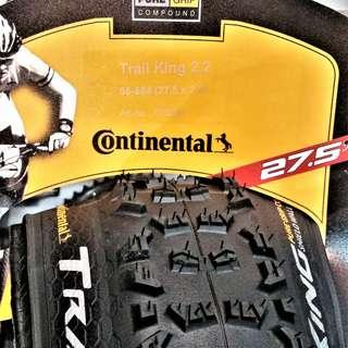 CONTINENTAL Trail King Performance MTB Tire 27.5 X 2.2