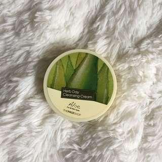 TheFaceShope Aloe Cleansing Cream