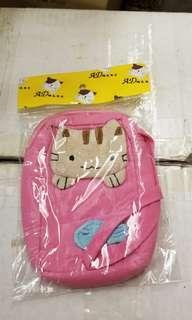 可愛貓咪小布袋