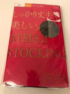 X'mas 精選~絲襪黑色共4對日本製(聖誕交換禮物之選)花紋如圖