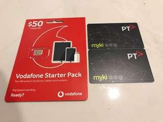 Melbourne Transport Card and SIM Card