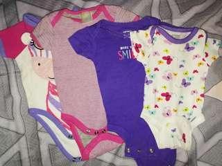 Preloved Baby Girl Onesies