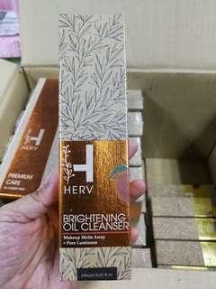 Herv Brightening Oil Cleanser