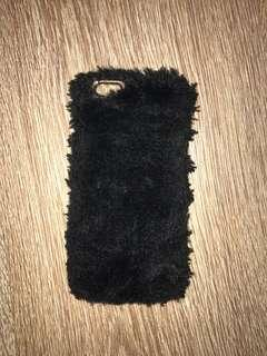 FACTORIE IPHONE6/6S black fur case