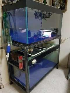 4ft Fish Tank with stand