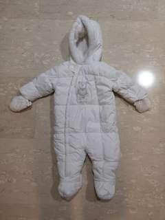 Super cute baby snow suit for winter or cold weather