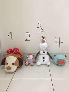 Boneka Anak Olaf doll