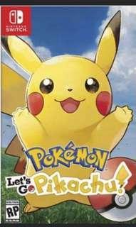 Pokemon Go Pikachu Switch