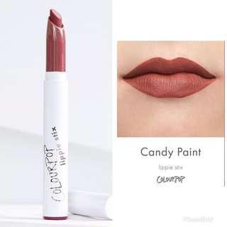 Colourpop lippie colorpop candy paint lipstick lip liner 霧面唇膏