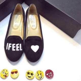 Chiara I FEEL Black Loafers
