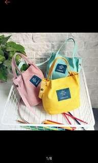 [PO] Canvas Sling Bag