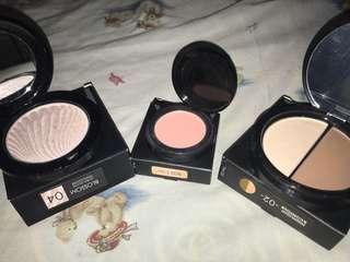 Focallure set(shading,blush on,highlighter