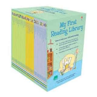 *NEW* USBORNE - MY FIRST READING LIBRARY - 50 BOOKS SET