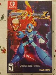 MegamanX Legacy Collection 1 for nintendo switch