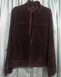 Corduroy textured jacket - Small to Medium