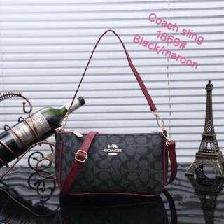 Coach Blue Sling Bag Replica