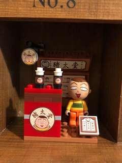 7-11 lego 豬太郎 小丸子lego