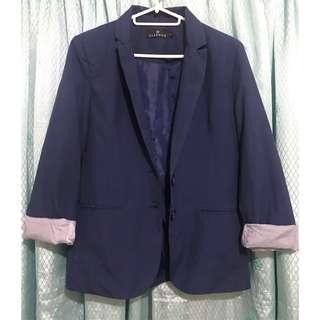 Navy Blue Coat - SMALL