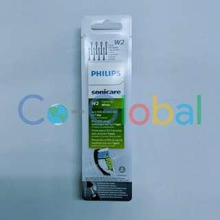 Philips Sonicare W2 Optimal White Replacement Brush Heads, 8pk, Black