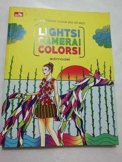Lights camera colors! Coloring book
