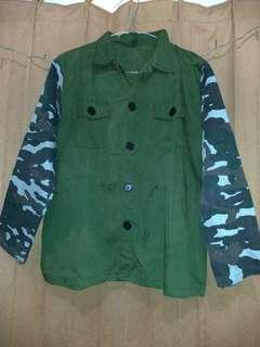 Outer Semi Parka Army