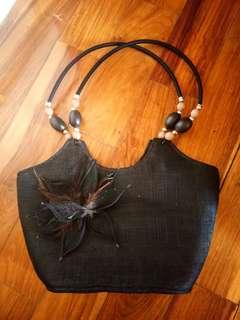 Native Black Shoulder Bag
