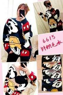 6615 Mickey Mouse  Sweat Wear